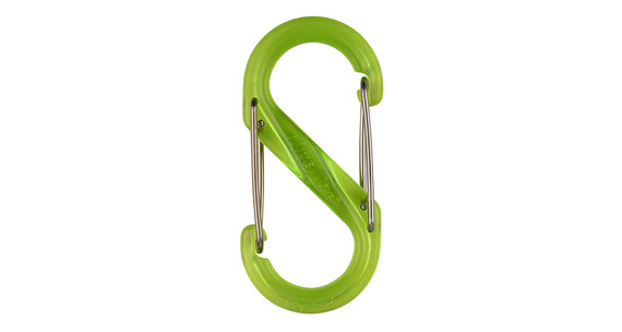 Nite Ize S-Biner Plastic Carabiner #2 Lime
